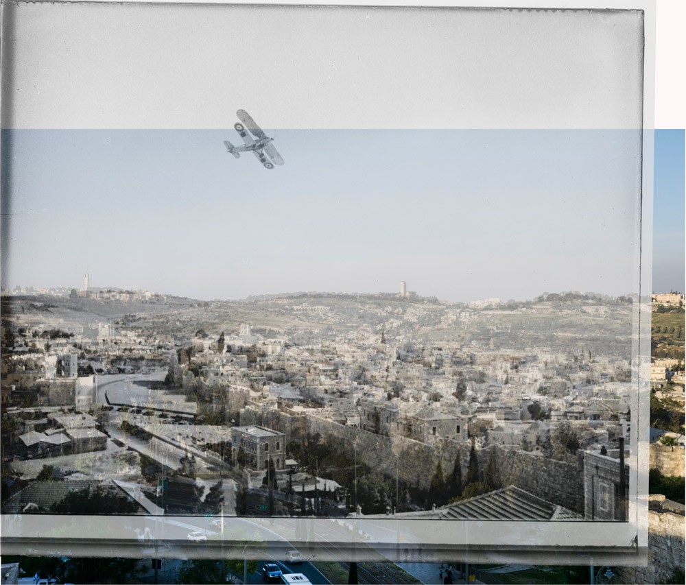 Damascus Gate Airplane